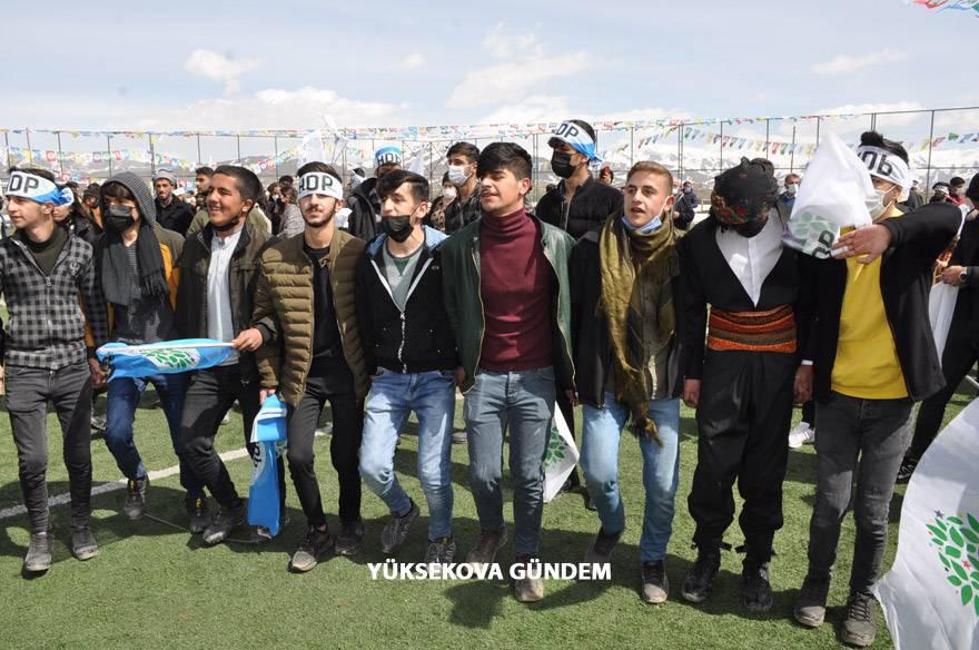 Yüksekova'da Newroz Kutlandı 1