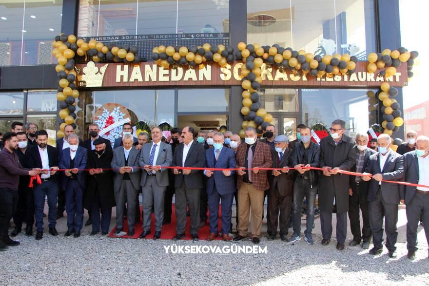 Yüksekova'da 'Hanedan Sofrası' hizmete açıldı 1