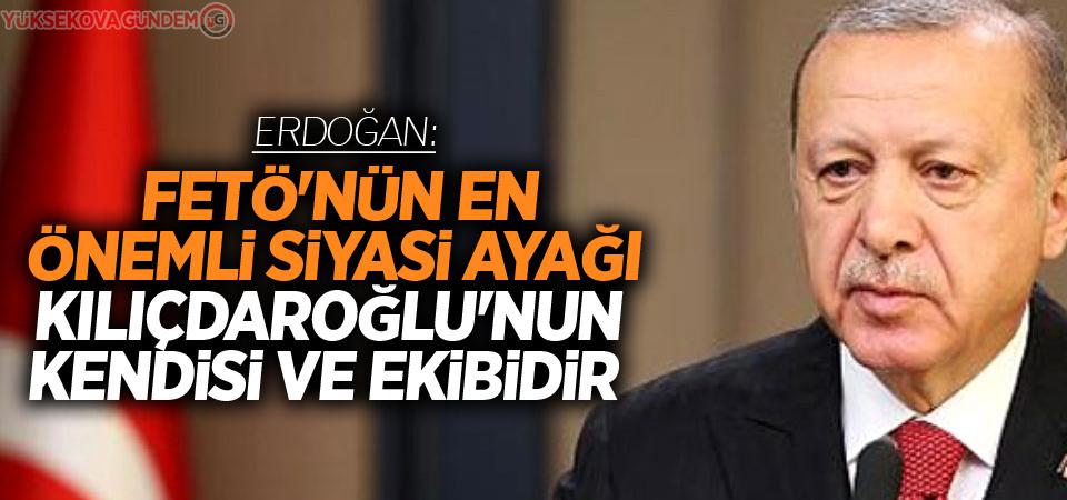 Erdoğan: 'Fetö'nün Siyasi Ayağı Kılıçdaroğlu'nun Kendisi Ve Ekibidir'