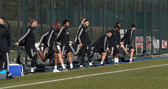 Beşiktaş'ta grup idmanları başladı