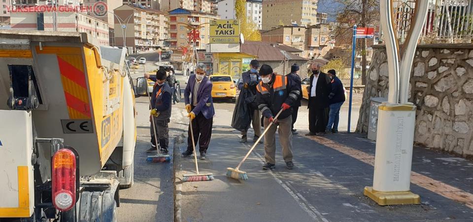Hakkari'de genel temizlik