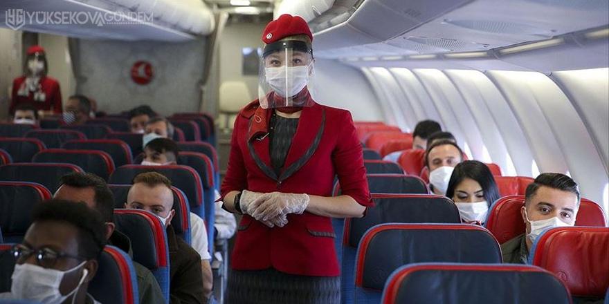 THY Genel Müdürü Ekşi: Uçakta filtreli maske takmayın