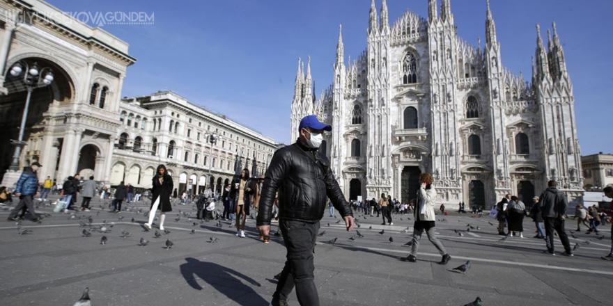 İtalya'da son 24 saatte Covid-19'a bağlı 616 can kaybı