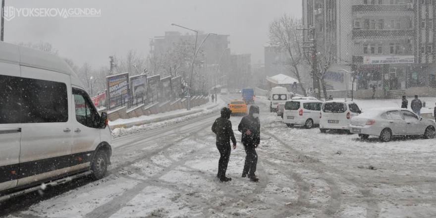 Şırnak'ta kar esareti: Hakkari ve Siirt'e ulaşımlar kesildi