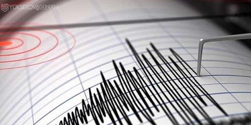 7.1 büyüklüğünde deprem!