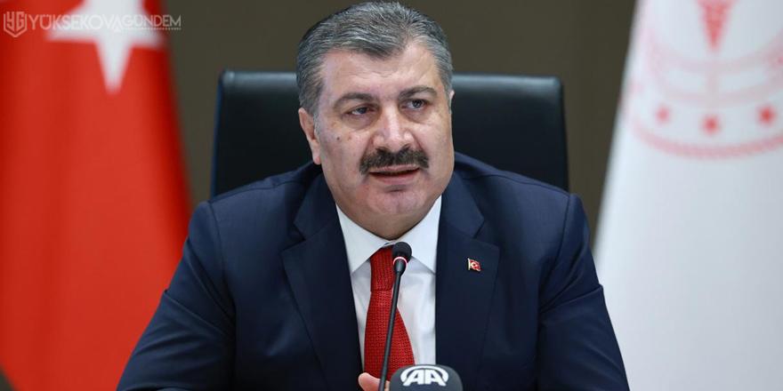 Türkiye'de son 24 saatte 7 bin 103 vaka tespit edildi
