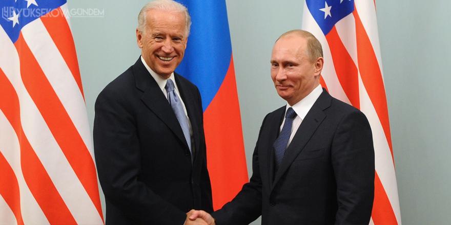 Vladimir Putin'den Joe Biden hamlesi