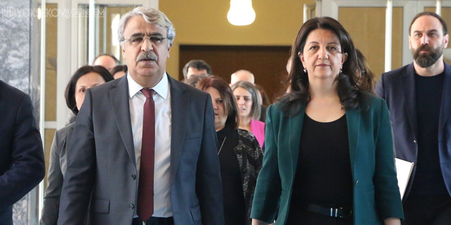 HDP'den diyalog atağı: 4 partiden randevu istedi