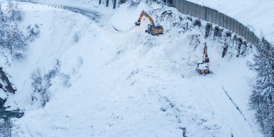 Meteoroloji uyardı: Kar ve çığ tehlikesi...