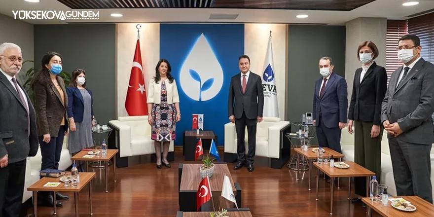 HDP'li Buldan'dan Babacan'a ziyaret