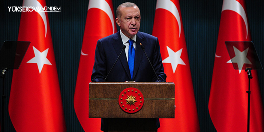Cumhurbaşkanı Erdoğan kısmi kapanma kararı alındığını açıkladı