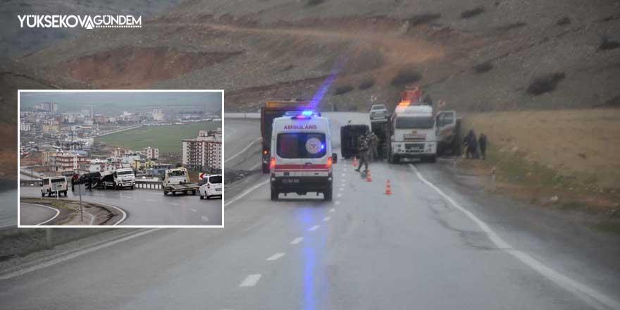 Şırnak'ta zincirleme trafik kazası: 6 yaralı