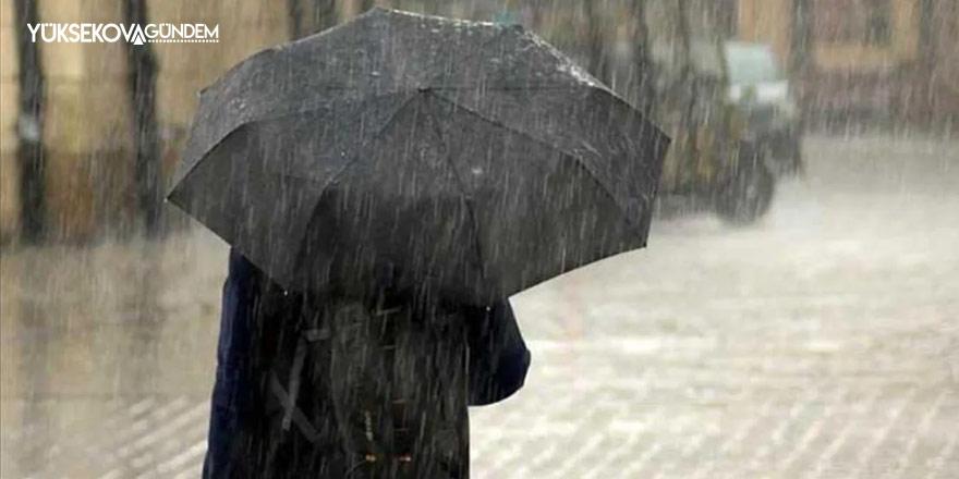 Meteoroloji'den Hakkari için yağış uyarısı