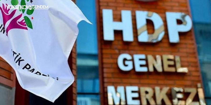 HDP'den Montrö bildirisi açıklaması