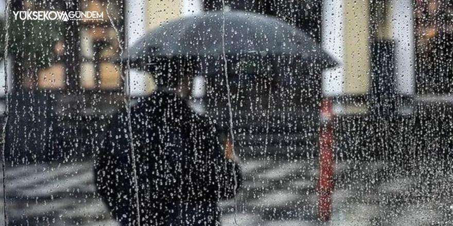 Meteorolojiden Hakkari için yağış ve kuvvetli rüzgar uyarısı