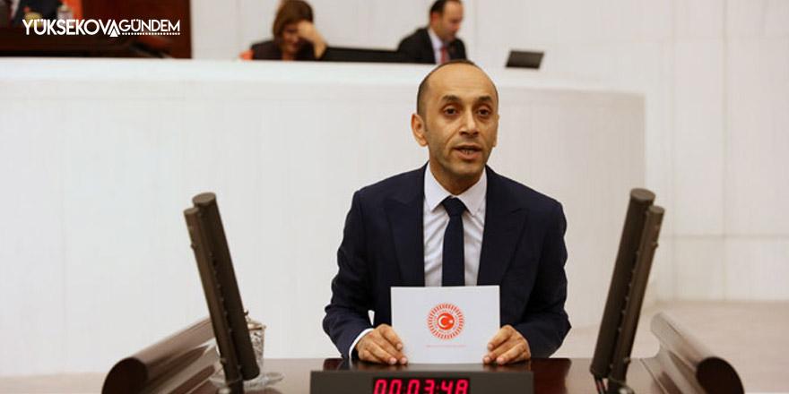 HDP Hakkari Milletvekili Dede'den '2911' teklifi