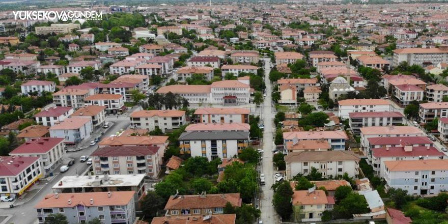 Erzincan'da 2021 Haziran ayında 278 konut satıldı