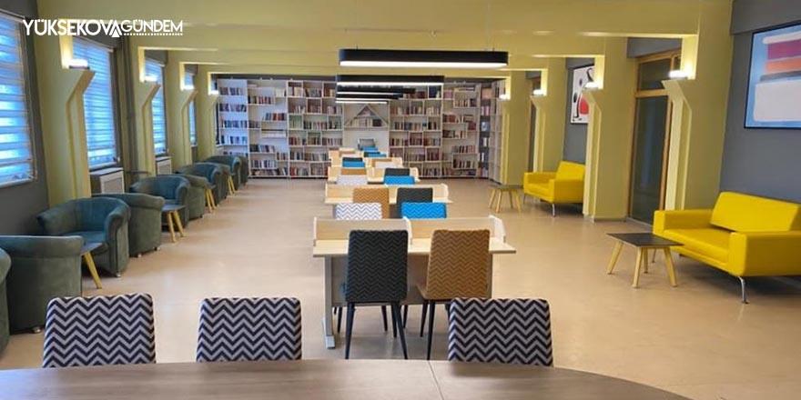 Hakkari'ye tam donanımlı kütüphane