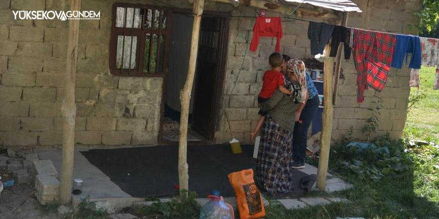 6 nüfuslu aileye yardım eli uzatıldı