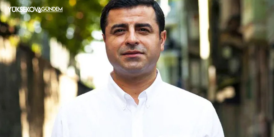 Selahattin Demirtaş'tan konferans çağrısı