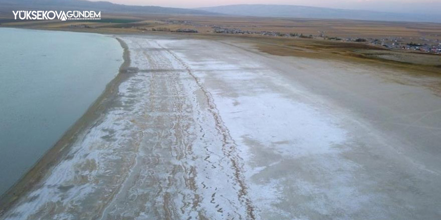 Kuraklık, Arin Gölü'nün yüzde 15'ini kuruttu