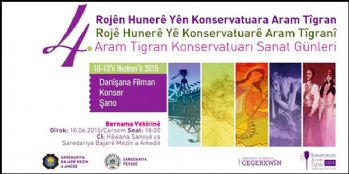 Diyarbakır'da Aram Tigran Sanat Günleri başlıyor