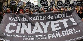 İlk altı ayında 794 işçi öldü