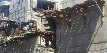 AVM inşaatı çöktü: 1 ölü 4 yaralı
