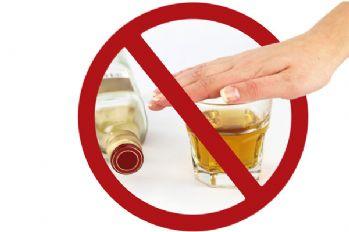 Alkol yasağı iptal edildi