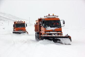 184 köy yolu ulaşıma kapandı