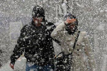 Meteoroloji'den uyarı: Kar yağışı bu kez 5 gün sürecek