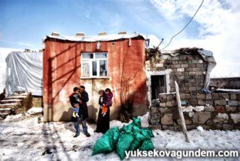 Yüksekova'da çaresizliği fotoğrafı