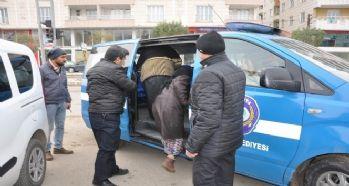 Siirt'te dilenciler toplatıldı