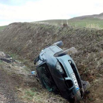 Kayganlaşan yol kazaya neden oldu: 6 yaralı