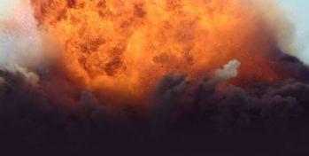 İzmir'de Şiddetli patlama