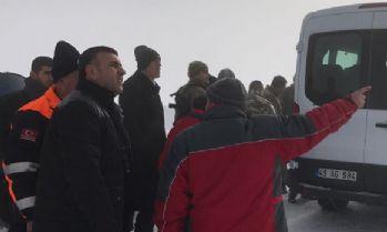 Çığ altında kalan vatandaş ağır yaralı olarak kurtarıldı