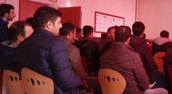 Özalp ilçesinde 'hasta kabul' kursu açıldı