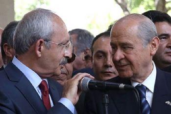 Bahçeli-Kılıçdaroğlu görüşmesi başladı