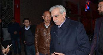Tahliye edilen Ahmet Türk Mardin'de
