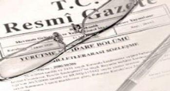 687 Sayılı KHK Resmi Gazetede yayımlandı