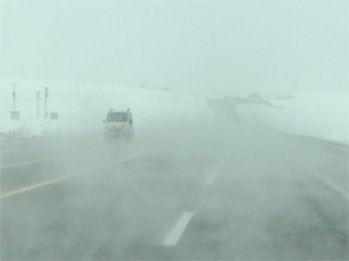 Van'da sis trafiği etkiledi