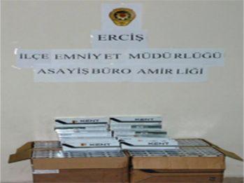 Erciş'te kaçakçılık operasyonu