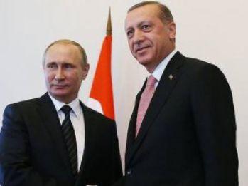 Erdoğan ile Putin telefonda Suriye'yi konuştu