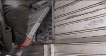 6 bin 690 paket kaçak sigara ele geçirildi