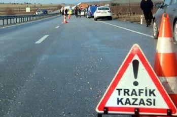 Trafik kazası: 2 ölü 9 yaralı