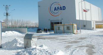 Van AFAD Lojistik Merkezi bölgeye hizmet verecek