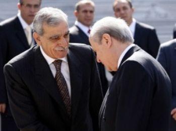 Ahmet Türk, Bahçeli ile görüştü