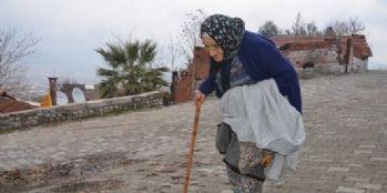 82 yaşındaki kadına ceza verildi