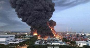 Atık tesisinde patlama