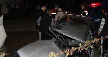 Trafik kazası; 1'i ağır 5 yaralı